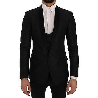 Dolce & Gabbana Blue Martini Slim 2 Piece Blazer SIG60279-6
