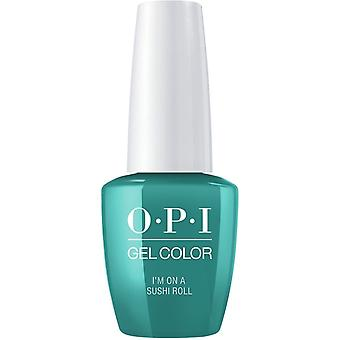 OPI GelColor Gel Kleur - Im On A Sushi Roll (GC T87) 15ml