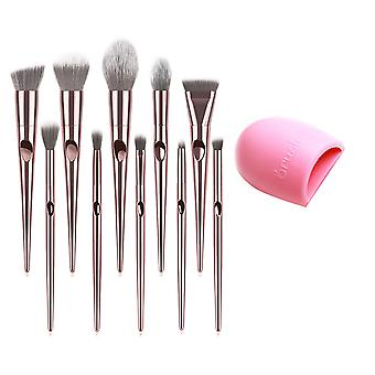 YANGFAN Thumb Handprint Wet And Dry Makeup Brush Set