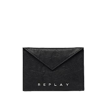 Replay Women's Card Holder Leather
