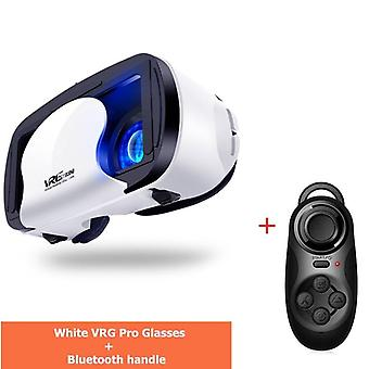 Vrg Pro -3d Vr Glasses Full Screen Visual Wide-angle Box For 5 To 7 Inch Smartphone Eyeglasses