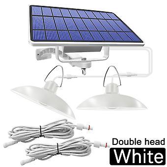 solar anheng-lys utendørs / innendørs hengende solcelledrevet skur-lys vanntett