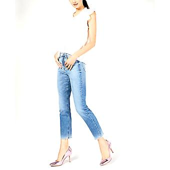 Hudson   Zoeey High-Rise Straight Crop Jeans