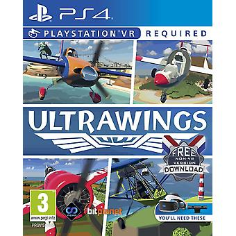 Ultrawings PSVR PS4 Game (For Playstation VR)