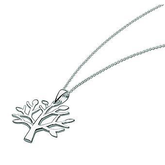 Dew Sterling Silver Winter Tree Pendant 9630HP021