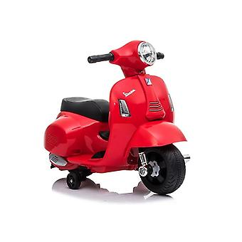 Rode elektrische scooter Vespa GTS 300 Mini