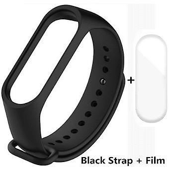 Siliconen polsband armband vervanging voor Xiaomi Band 5/4/3 polsband