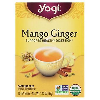 Yogi Tea Mango and Ginger, 16 Bags