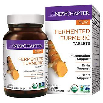 New Chapter Fermented Turmeric, 48 Tabs
