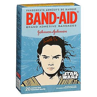 Band-Aid Star Wars Adhesive Bandages Assorted Sizes, 20 Each