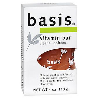Baza de vitamina Bar Săpun Curata Plus înmoaie, 4 oz