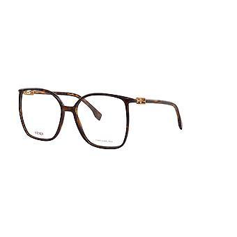 Fendi FF0441 086 Havana Glasses