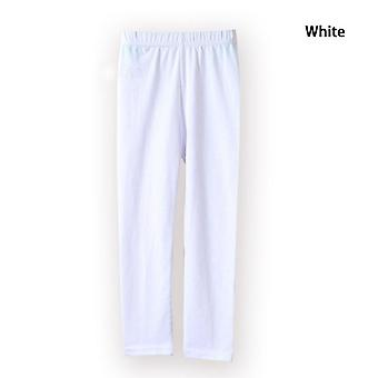 Girl Pants Soft Elastic Cotton Leggings Skinny Pants Trousers Set-1
