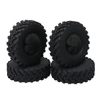 4Pieces RC Rock Crawler 2.2inch ID Tires Tyres W/ Foam for 2.2inch Wheel