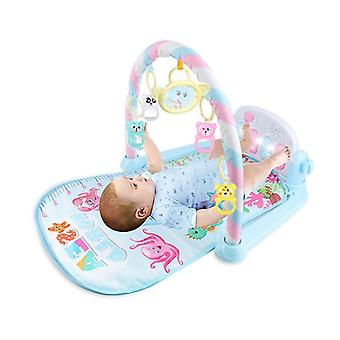 Baby Fitness Game Mat Play Fitness+music+lighting Fun Piano Fitness Frame