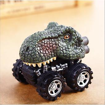 Big Tire Pull Back Car-dinosaur Model