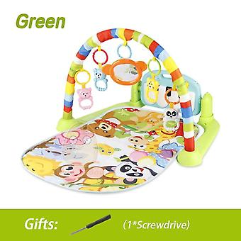 Baby Play Music Mat Carpet Kid Crawling Game Develop With Piano Keyboard Infant
