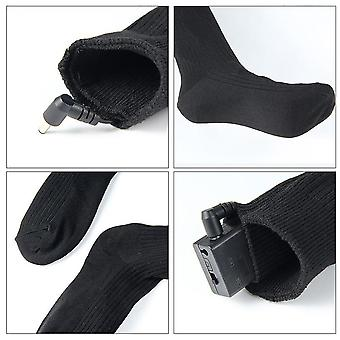 Thermal Cotton Heated Socks, Men-women Battery Operated Winter Foot Warmer
