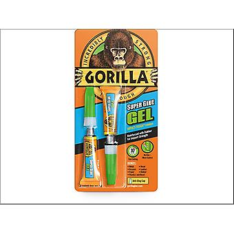 Gorilla Gorilla Super Glue Gel 2 x 3g 4044601