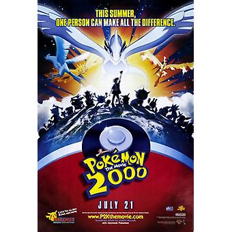 Pokemon i filmen 2000 kraften av en film plakatutskrift (27 x 40)