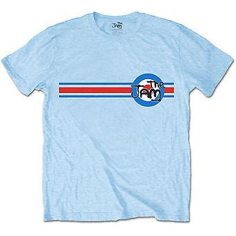 Light Blue The Jam Target Stripe Official Tee T-Shirt Unisex