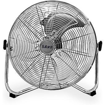 Futura High Velocity Floor Fan 20 Inch 50cm 3 Speed Floor Standing Cooling Fan