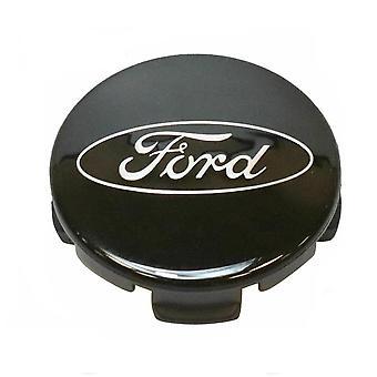 Black Ford Wheel Center Cap Hub Badge 54mm 1 PCS For C-Max Galaxy Focus Mondeo Transit Ka Fiesta Kuga B-Max