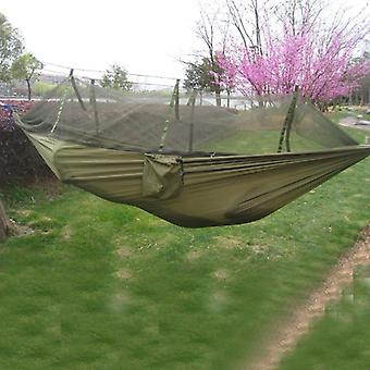 Portable Mosquito Net, Outdoor Garden Travel Swing Parachute Fabric Hang Bed