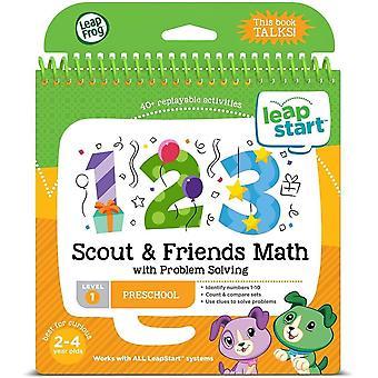 Leapfrog leapstart nursery scout e amigos matemática e livro de atividades de resolução de problemas