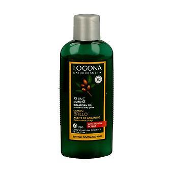 Organic argan shine shampoo travel format 75 ml