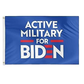 العسكرية النشطة ل جو بايدن العلم 3x5 قدم