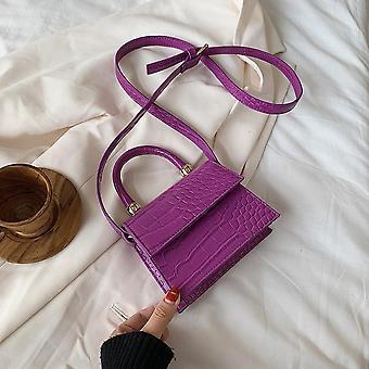 Pu Leather Flap Shoulder/ Messenger, Top-handle, Crossbody Purse Handbags
