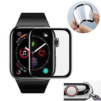 Skärmskydd Film Apple Watch 3d böjda kant Hd härdat glas