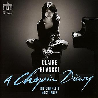 Chopin / Huangci, Claire - Chopin Diary: Complete Nocturnes [CD] USA import