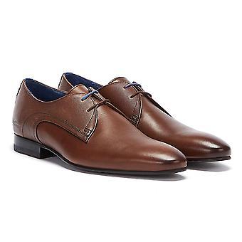 Ted Baker Mens bruin lederen Peair schoenen