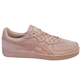 Asics Onitsuka Tiger GSM Lace Up Unisex Trainers Pink Suede D5K1L 1717 B12A