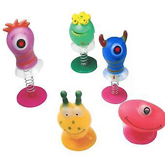 6 Saut assorti pop up monster toys / enfants enfants party bag remplissrs garçons par les enfants partie acces