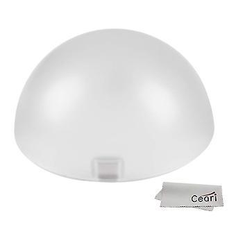 Godox ak-r11 dome diffuser, compatibel met godox v1 flash serie, v1-s, v1-c, v-1n, gebruik met godox