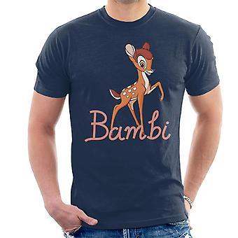 Disney Bambi Walking Men's T-paita