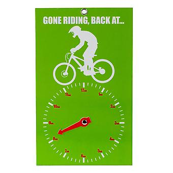 Gone Riding Clock Face - Downhiller