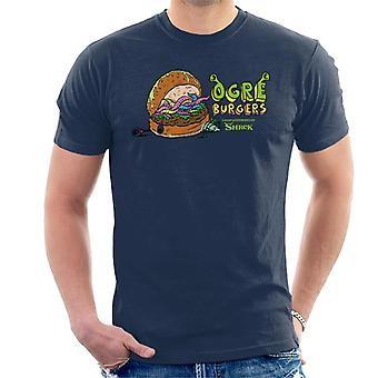 Shrek Ogres Burgers Mænd's T-shirt