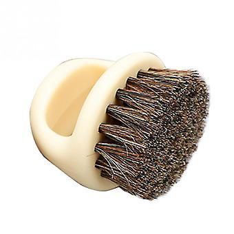 Wood Handle Boar Bristle Cleaning Brush For Hairdressing/ Beard Brush /comb