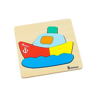 "Alatoys Wooden  Puzzle ""Little Ship"""