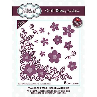 Creative Expressions Cutting Dies - Viimeistely - Magnolia Corner