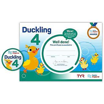 ASA Swim England Duckling Award Grade 4