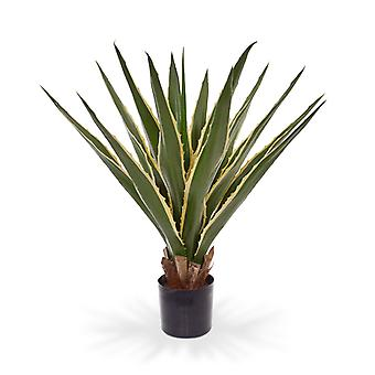 Sztuczna sztuczna sztuczna roślina Furcraea Agawa 80 cm varigated