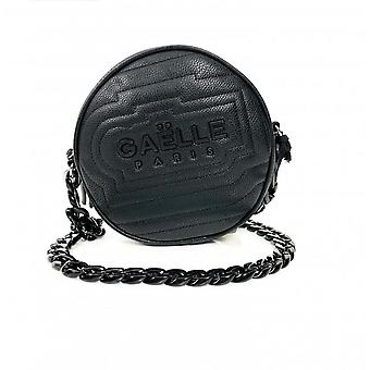 Bag Woman Gaëlle Shoulder strap 2 Roundecopelle Quilted Black Bs21ge15 Gbda2239