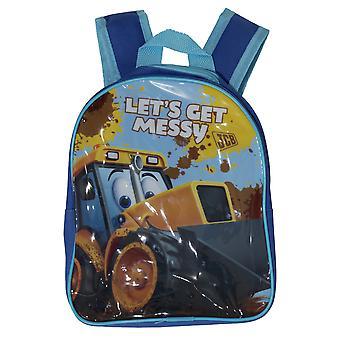 JCB Childrens/Kids Lets Get Messy Backpack