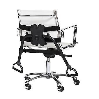 Bærbar Gym for stoler - Svart