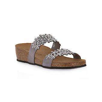 Grunland silver 70me sandals